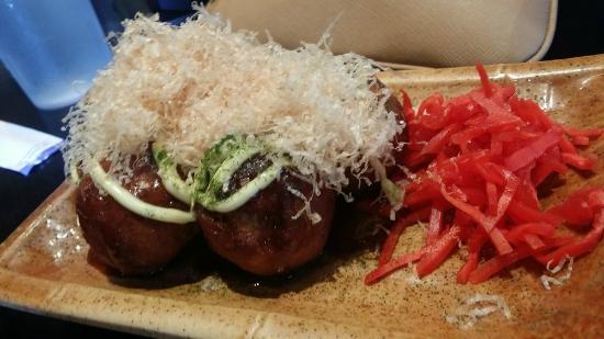 Ramen Dojo: fried wheat balls with octopus