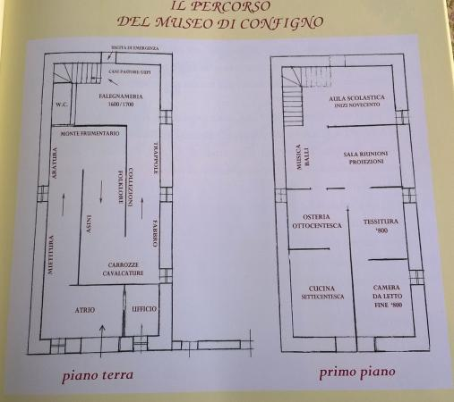 Amatrice, Włochy: piantina del museo