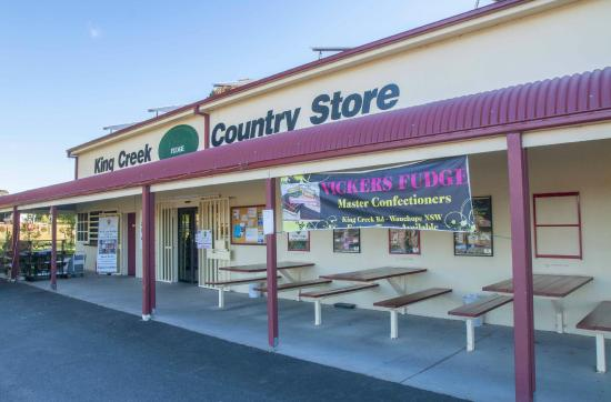 Kings Creek, Australia: Shop front