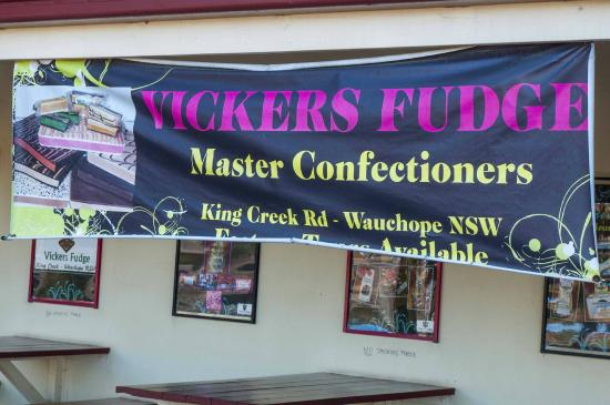 Kings Creek, Australia: Sign