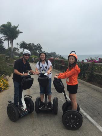 Segway of Santa Barbara: Robert is a great tour guide and coach for our Santa Barbara Segway tour.