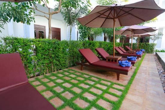 The Moon Residence \u0026 Spa: Poolside Beds & Poolside Beds - Picture of The Moon Residence \u0026 Spa Siem Reap ...