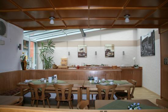 Hotel-Gasthof-Hereth: Frühstücksraum