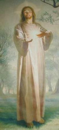 Ferrara di Monte Baldo, Italy: Il Cristo In cima alla Scala nel Santuario