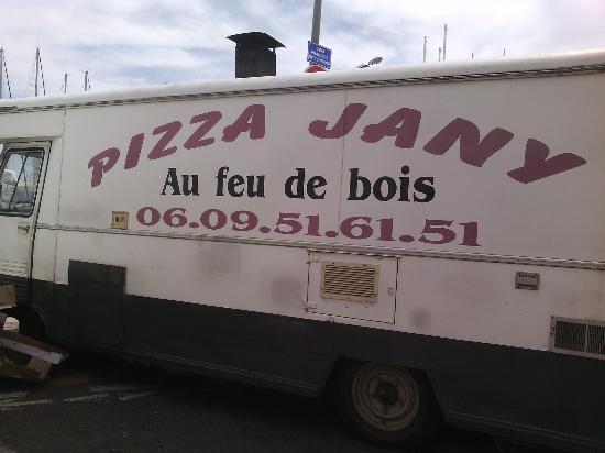 Camion Pizza Chez Jany La Ciotat