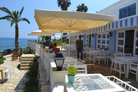 Bozyazi, Turkiet: Restaurant view