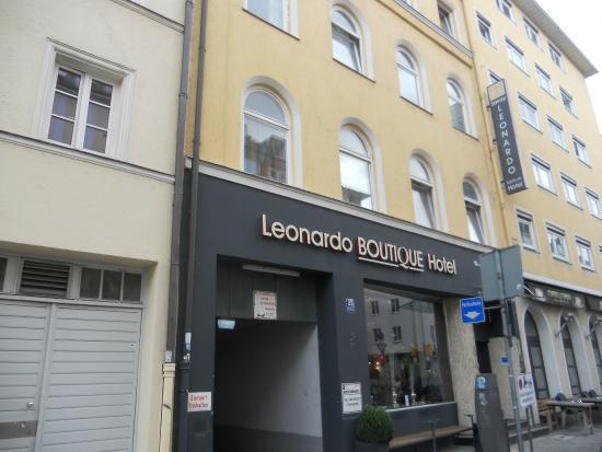 Leonardo Boutique Hotel : Monaco di Baviera, Hotel Leonardo, l'ingresso