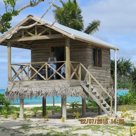 our dream house at Matafonua lodge...