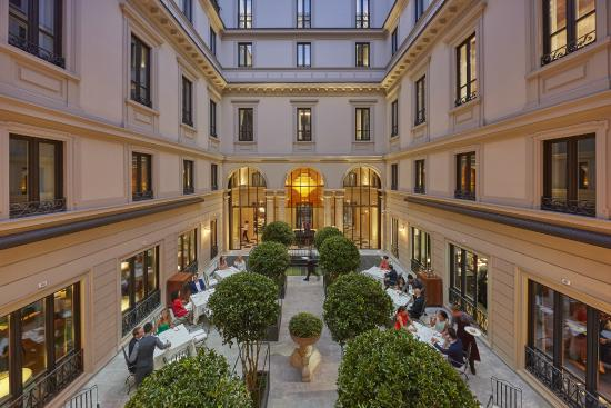 Mandarin oriental milan updated 2018 prices hotel for 5 star restaurant exterior