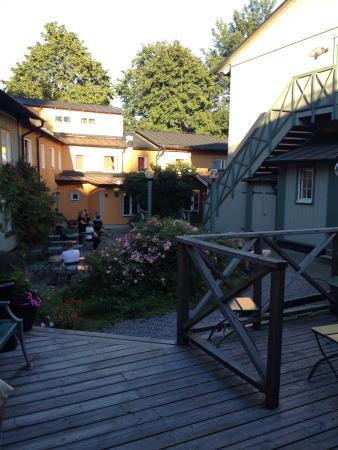 Hotell och Vandrarhem Zinkensdamm: Altri tavolini fuori