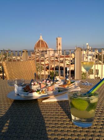 Mojito E Finger Foods Picture Of Terrazza Brunelleschi