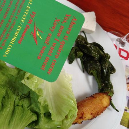 "Churrasqueria Rodeo: Карточка ""Хочу еще мяса"""