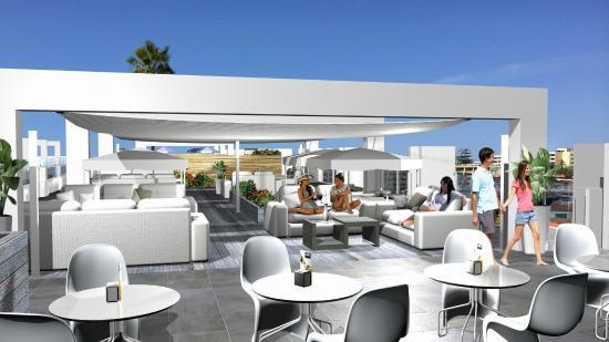Terrace Picture Of Labranda Marieta Playa Del Ingles Tripadvisor