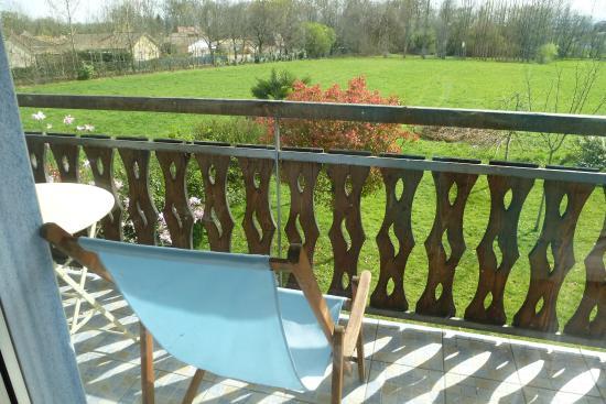 Les gites du hameau de Pau: balcon