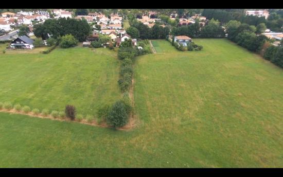 Les gites du hameau de Pau : gites vus du drone