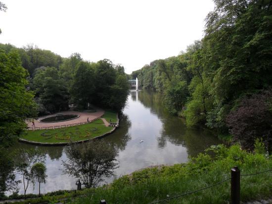 Sofiyivka Park: красивая местность