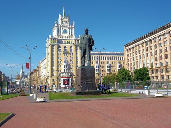 Monument to Mayakovskiy