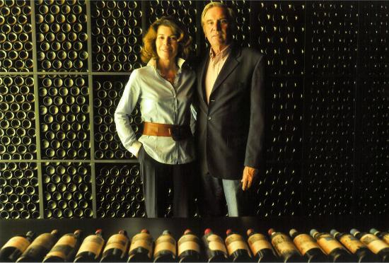 Chateau Smith Haut Lafitte : Florence & Daniel Cathiard