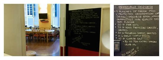 Manena Hostel : Pesto recipe