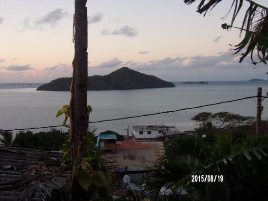 Hotel Restaurant Isijiva : Vue de la Varangue
