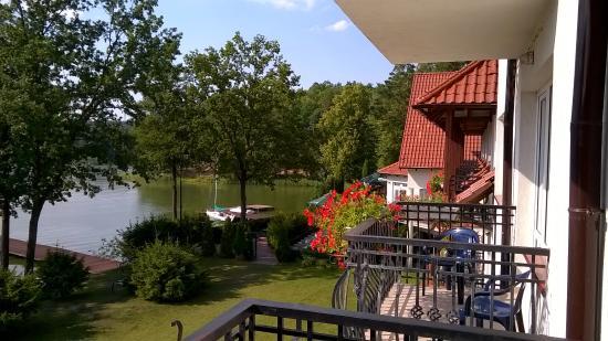 Hotel Nidzki: widok z balkonu