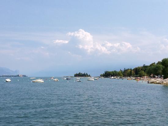 La Quiete Park Hotel : Il lago a due minuti a piedi