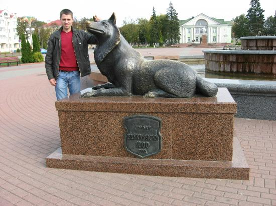 Vawkavysk, Hviterussland: Волк