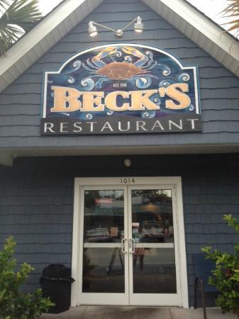 Becks Restaurant In Calabash Nc Short Drive From North Myrtle Beach