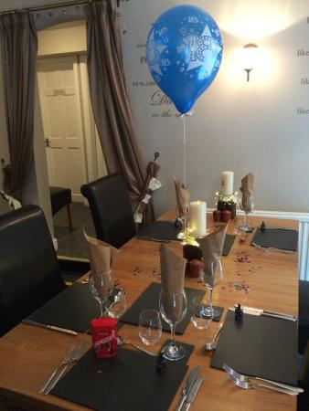 Trefriw, UK: Our 18th Birthday celebration at Chandlers