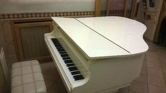 Hotel Museum: Piano in lobby