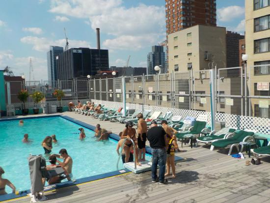 Rooftop Pool Picture Of The Watson Hotel New York City Tripadvisor