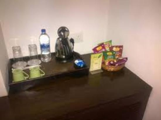 Amogh Boutique Hotel : welcome kit - I was surprise to see this