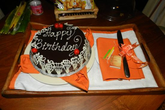 Kumarakom Lake Resort The Most Delicious And Special Birthday Cake Ever Delivered To Our