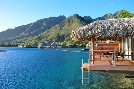 InterContinental Moorea Resort & Spa: Overwater Bungalow with view