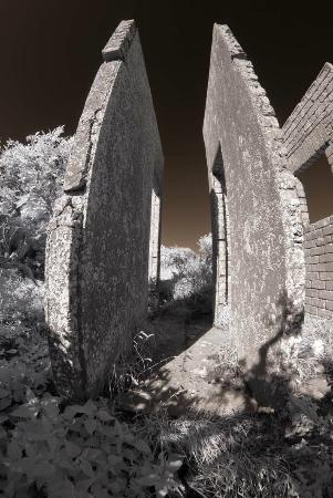 Steep Holm Island: WW2 Toilet block