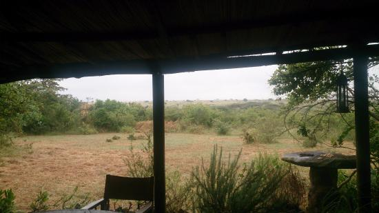 Silole Sanctuary: Views from the patio