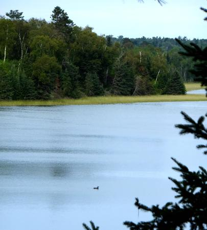Lake Itasca, MN: peace pipe vista