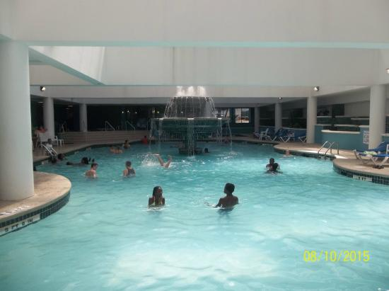 Indoor lazy river picture of landmark resort myrtle - Indoor swimming pool myrtle beach sc ...