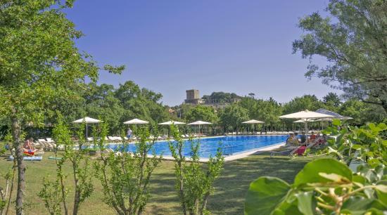 Parco delle Piscine: Pool of the campsite