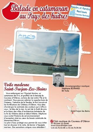 CNCO Ecole de voile : Découvrez le sud de l'Ile d'Oléron en catamaran