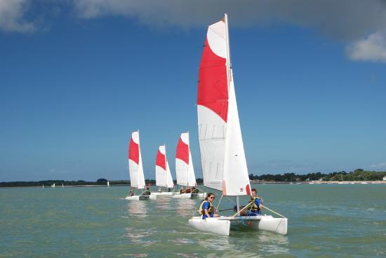 CNCO Ecole de voile : Stage catamaran junior