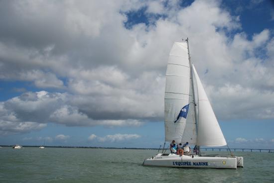 CNCO Ecole de voile : Balade catamaran
