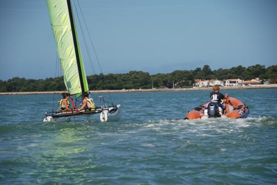CNCO Ecole de voile : Stage catamaran adulte
