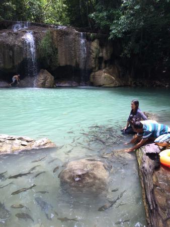 Erawan National Park, Thailand: cascade niveau 2
