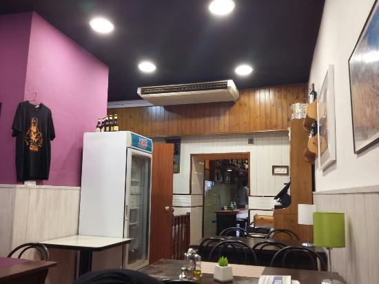 El Caseron: Restaurante super acogedor