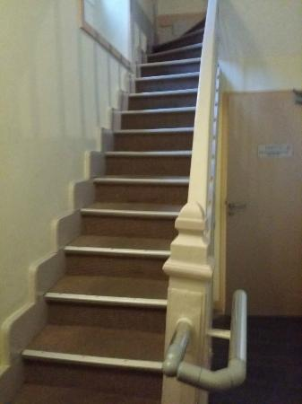 Hotel Le Bon Cap: Escaleras