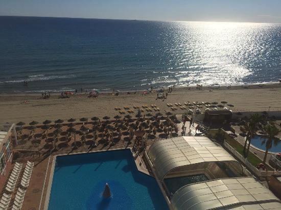 Hotel Entremares: vista desde la habitación