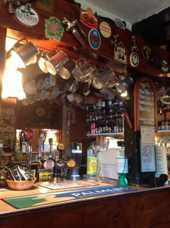 Ebbesborne Wake, UK: The Bar