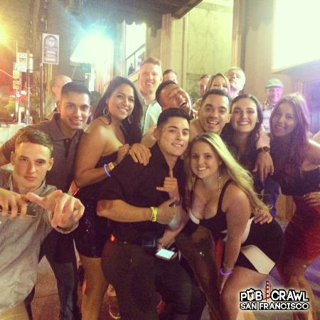 Pub crawlers picture of pub crawl san francisco san francisco