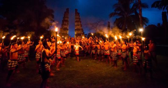 The Chedi Club Tanah Gajah, Ubud, Bali – a GHM hotel: Amphitheater Kecak Dance